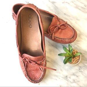 abeo Marilee moccasins leather size 8.5